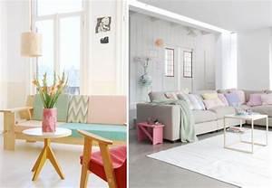 Des Couleurs Pastel : d co salon couleur pastel ~ Voncanada.com Idées de Décoration