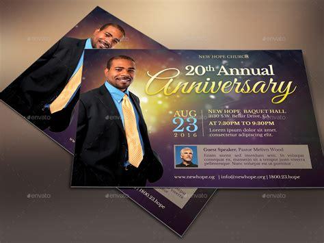 starlight pastor anniversary flyer template  cgraphic