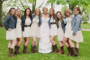 bridesmaid dresses with boots rustic bridesmaid dresses with cowboy boots flower dresses