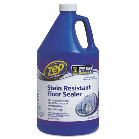 Zep Floor Sealer Msds stain resistant floor sealer by zep commercial 174 zpe1044994