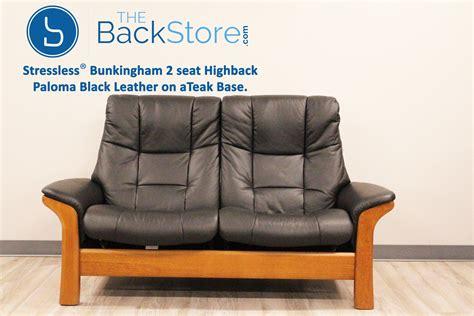 stressless buckingham  seat loveseat high  sofa