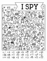 Spy Printable Road Trip Paper Games Eye Travel Worksheets Trail Printables Papertraildesign Puzzles Diy sketch template