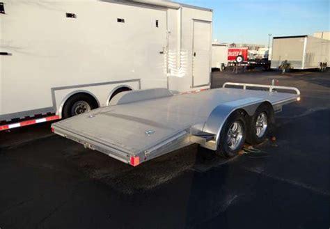 aluminum open car hauler advantage trailer