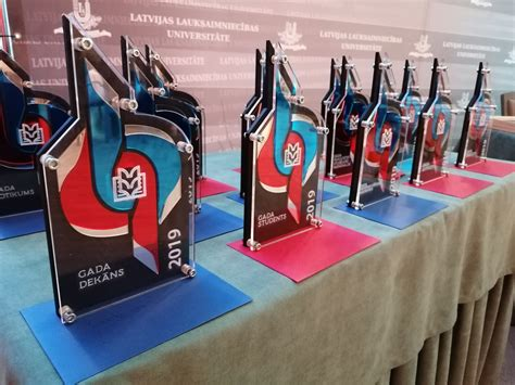 Sveikti LLU SP Gada balvas 2019 laureāti | LLU