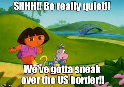 Dora Memes - dora goes exploring too far imgflip