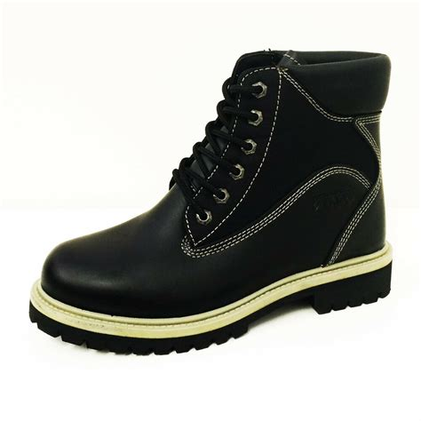 Men Ankle Boots Leather Nylon Fashion Casual Work