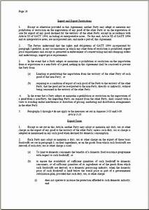 mexico nicaragua free trade agreement With international trade contract template
