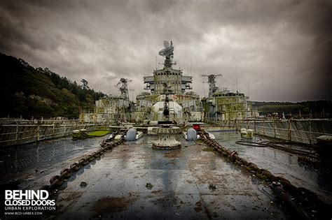 atlantic ghost fleet battle ships france urbex