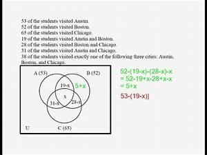 Venn Diagrams And Sets 07