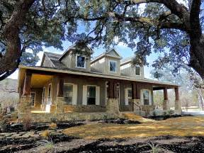Stunning Country Style Home Plans by Hill Country Home 1608 High Lonesome