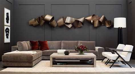 Modern Metal Wall Sculpture In Contemporary