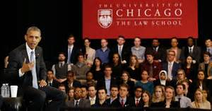 Image result for obama at university of chicago