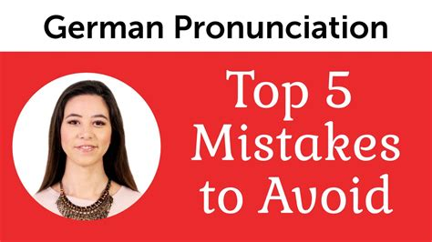 top 5 german mistakes to avoid