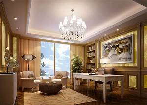 Beautiful CEO Office Download 3D House