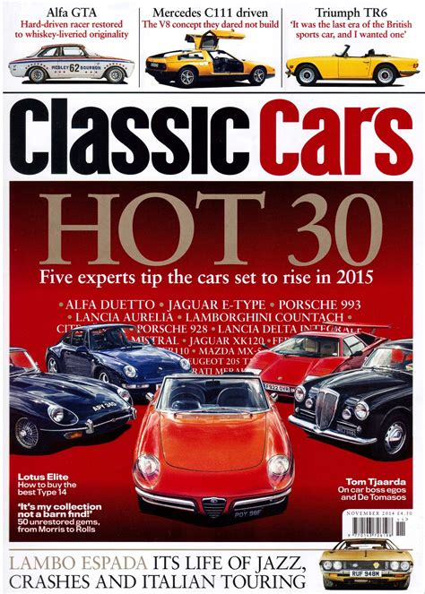 Classic Cars Magazine November 2014 Epic Restorations