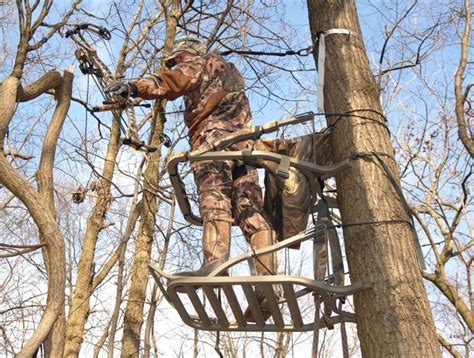 Tree Stands Can Be Dangerous For Hunters, But There Are Ways To Reduce Risks