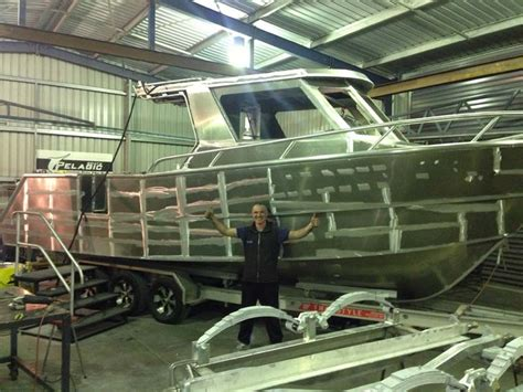 Aluminum Bass Boats Australia by Building The Fishing Boat Trade Boats Australia