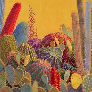 Cactus Paintings Canvas images