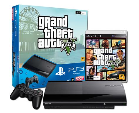 ps3 console ebay limited edition 500gb black grand theft auto v ps3 console