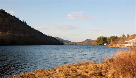 ny route  southern adirondack trail oxbow lake piseco