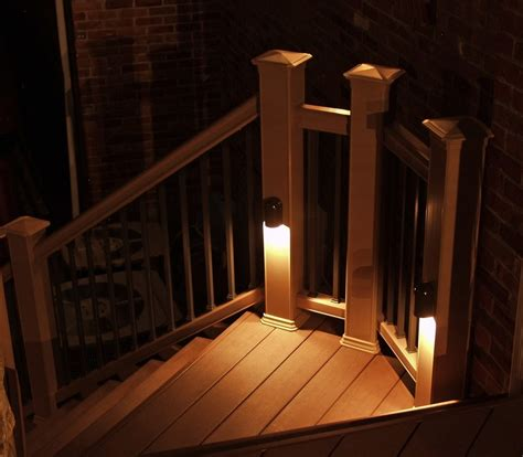 deck lighting ideas to get warm and cozy