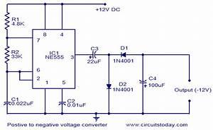 Positive Voltage To Negative Voltage Converter