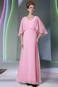 rose robe de soiree longue avec cape persunfr With robe longue avec cape