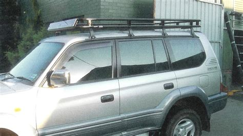 Toyota Roof Rack by Toyota Prado 90 Series Roof Racks