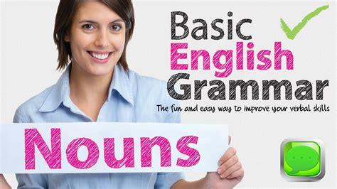Basic English Grammar  Noun  English Speaking  Spoken English  Esl Free English Lesson