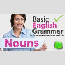 Basic English Grammar  Noun  English Speaking  Spoken English  Esl Free English Lesson