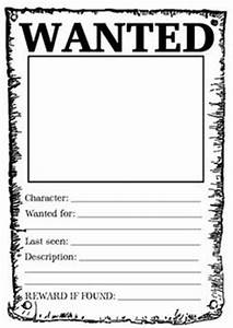 blank wanted poster template wordimage of a old wanted With wanted pirate poster template
