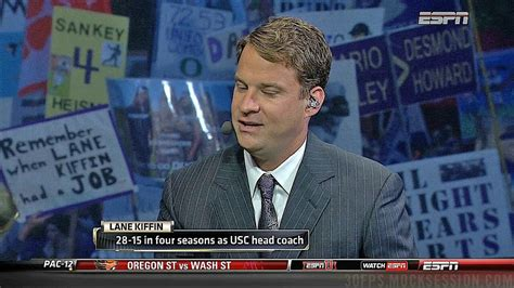 Lane Kiffin Meme - espn college gameday crowd mocks lane kiffin during interview for the win