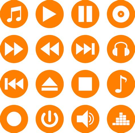 Basically, like other music players on tumblr (grooveshark, hypster, billy, scm music player, tumblr music player, playlist), it plays music on your play button display: download music player icons vector color set svg eps png psd ai di 2020