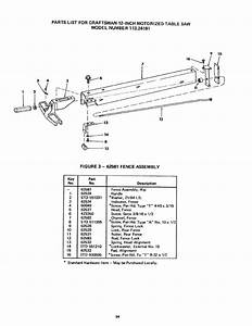 Page 34 Of Craftsman Saw 113 24181 User Guide