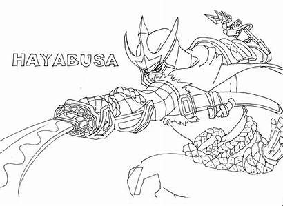 Mobile Legends Coloring Pages Hayabusa