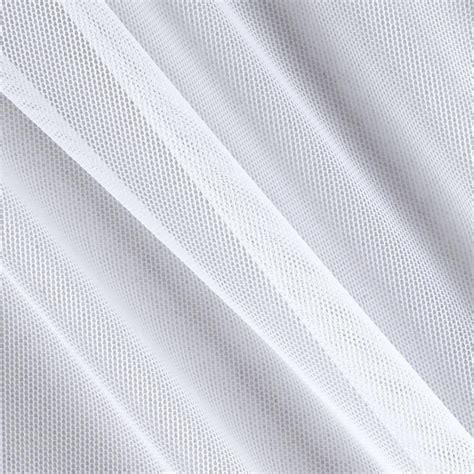 spandex stretch illusion shaper mesh white discount designer fabric fabric