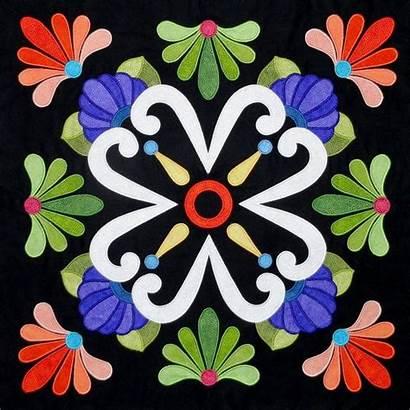Fiesta Mexican Quilt Talavera Patterns Pattern Applique