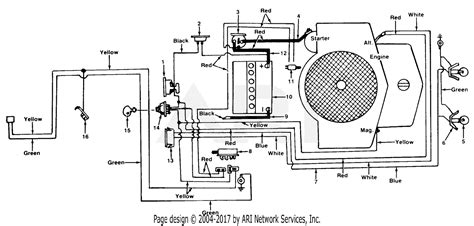 mtd 138 742 000 1988 parts diagram for electrical