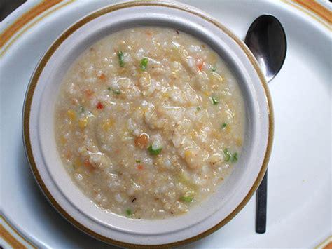 congee recipe multi grain congee chinese rice porridge recipe serious eats