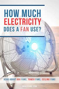 Ceiling Fan Consumes More Electricity