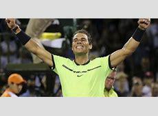Rafael Nadal derrotó a Jack Sock por cuartos de final del