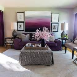 purple livingroom decor your living room with purple hues home decor and design