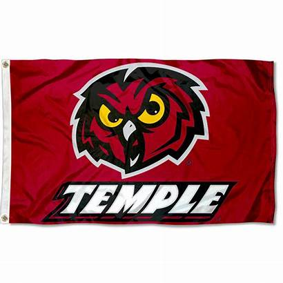 Temple University Owls Flag 3x5 Flags Logos