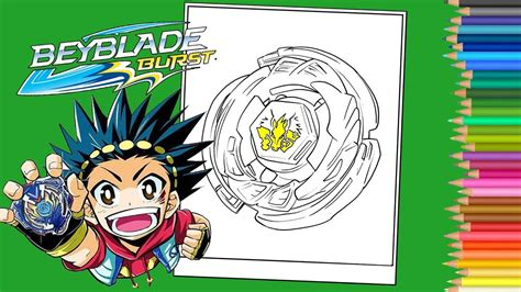 beyblade burst coloring pages book coloriage beyblade