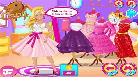 Luego marca el fondo con el pincel de fondo rojo. barbie juegos de vestir y maquillar para jugar | juegos de vestir gratis de moda 2017 - YouTube