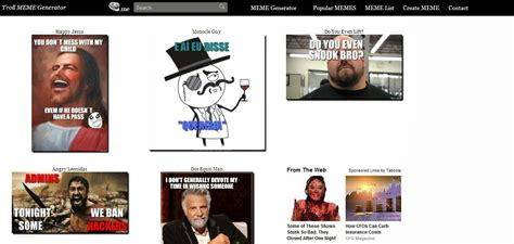 Create Memes Online Free - top 5 best web sites to create memes online for free how to the techno geek
