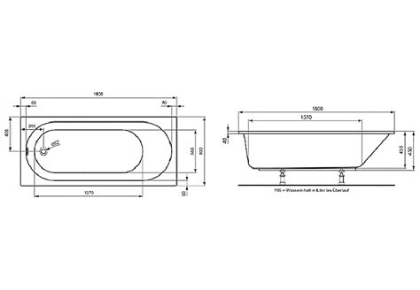 Architektur Standard Badewanne Maße Hersteller Ideal