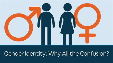 Gender Identity Why All The Confusion? Youtube