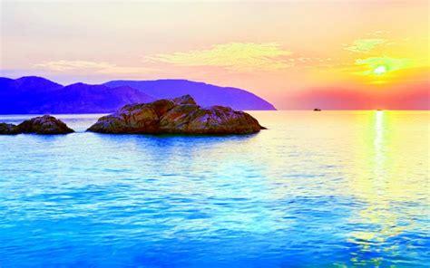 hd rising sun wallpaper