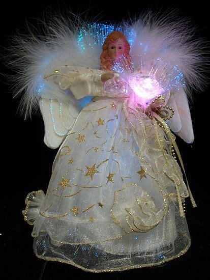 fiber optic christmas angels home holiday decorative
